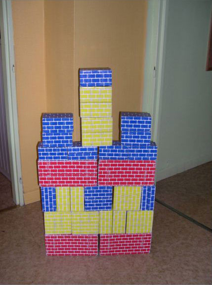 Briques cartons